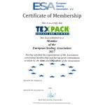 MEMBER OF THE ESA 2017