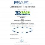 MEMBER OF THE ESA 2017